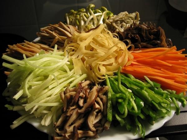 凉拌蔬菜的做法大全