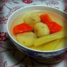 胡萝卜马蹄竹蔗水的做法