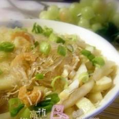 节瓜粉丝煮瑤柱虾米
