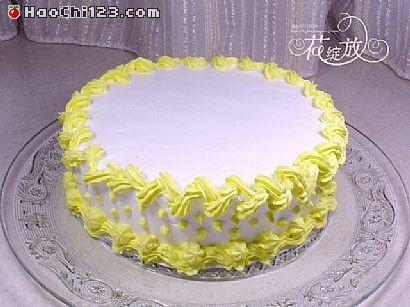 水果花纹蛋糕的做法【步骤图】_菜谱_美食杰