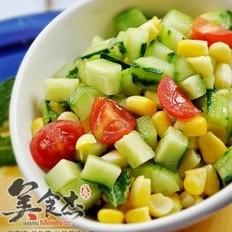 田园蔬菜沙拉