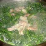 猪小肠西洋菜汤