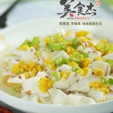 凉拌卷心菜&咸蛋黄豆腐
