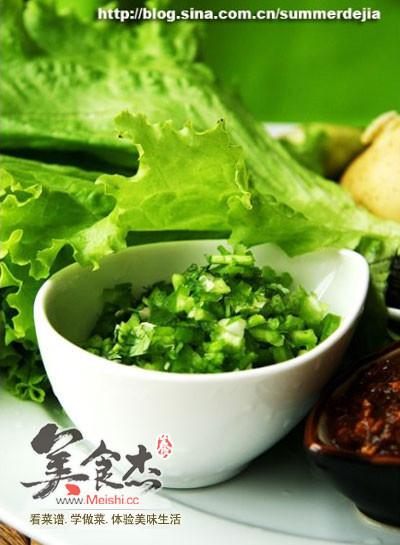 东北蘸酱菜怎么吃