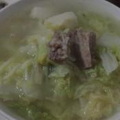 白菜排骨汤的做法