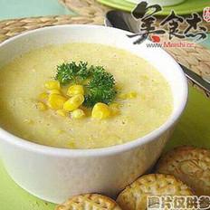 玉米牛奶浓汤