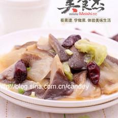 平菇燒白菜
