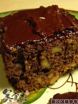 巧克力核桃糕的做法