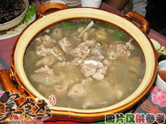 湯鍋羊肉的做法