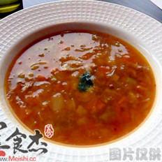 培根洋葱汤的做法