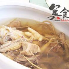增寿食谱-参芪炖鸡汤的做法