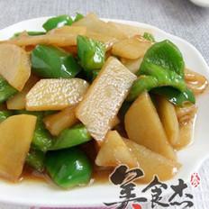 土豆片炒青椒