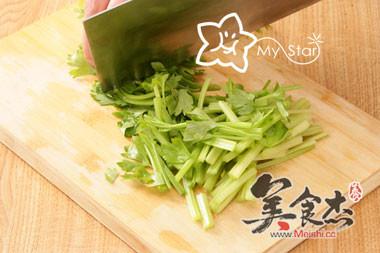 干锅腊肉茶树菇的简单做法