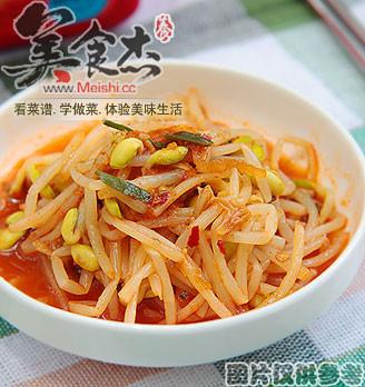 黄豆芽泡菜的做法