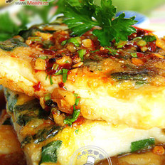 韩式香煎豆腐