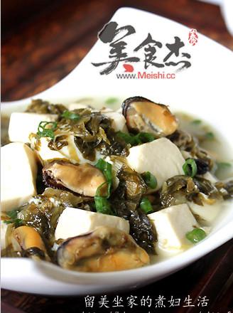 咸菜炖豆腐的做法