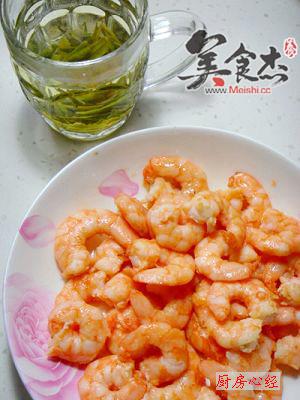 龙井虾仁的简单做法