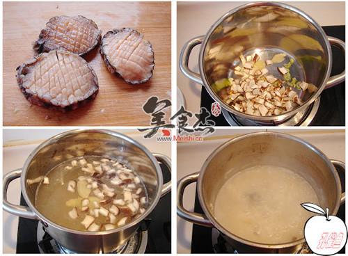 香菇鲍鱼粥的做法图解