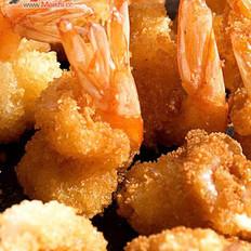 椒盐凤尾虾