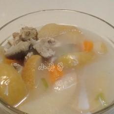 苹果梨猪骨汤