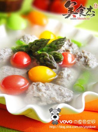 丁香鱼丸汤的做法