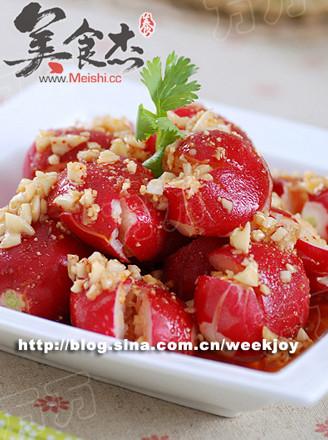 樱桃小萝卜的做法