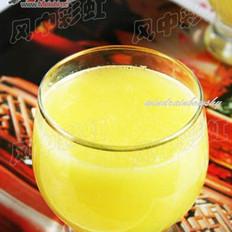 菠萝白菜汁