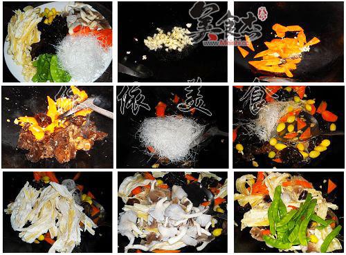 素菜大杂烩的做法图解