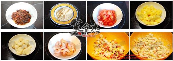 牛油果酱什锦虾沙拉的简单做法