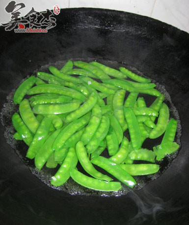 蒜蓉荷兰豆的家常做法