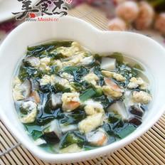 紫菜鲜味汤