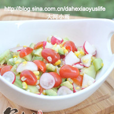牛油果玉米蔬菜沙拉