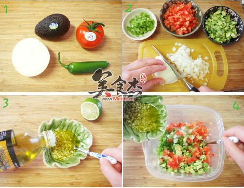 墨西哥牛油果沙拉的做法大全