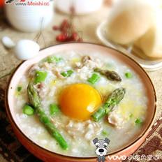 暖心暖胃羊肉窝蛋粥的做法大全