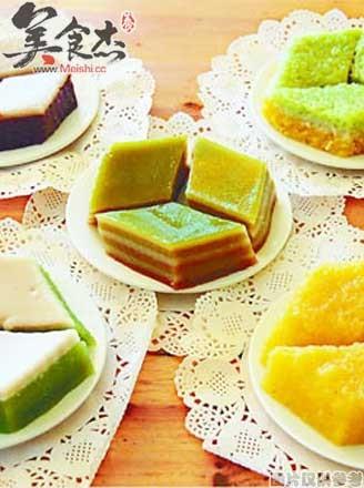 椰汁板兰糕的做法