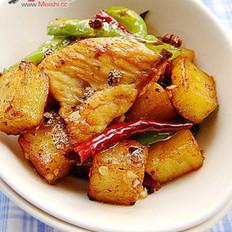 薯香花椒鸡