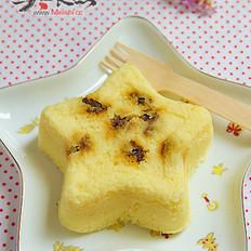 白豆沙蒸糕