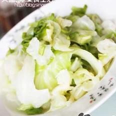 涼拌圓白菜