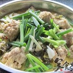 丸子酸菜鱼