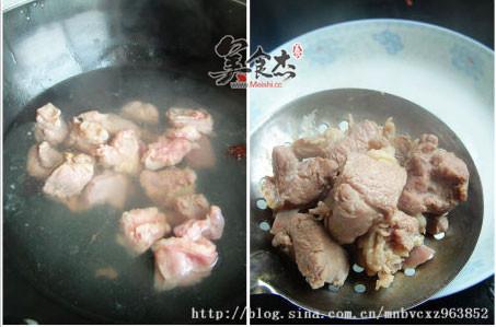 青萝卜山药羊肉汤的做法图解