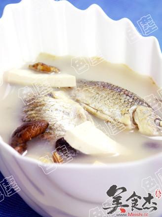 香菇豆腐鯽魚湯的做法