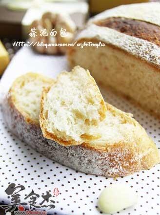 蒜泥面包的做法