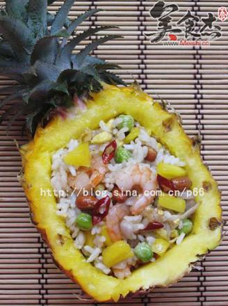 泰式菠萝饭的做法