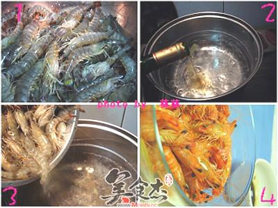 白灼基围虾的做法大全