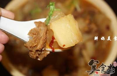 牛肉炖萝卜怎么做