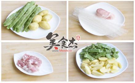 豆角土豆炖宽粉的做法大全