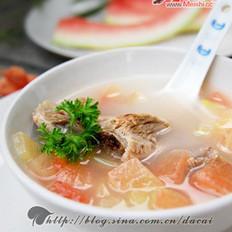西瓜皮排骨汤