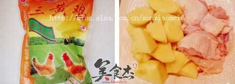三黄鸡炖土豆的做法大全