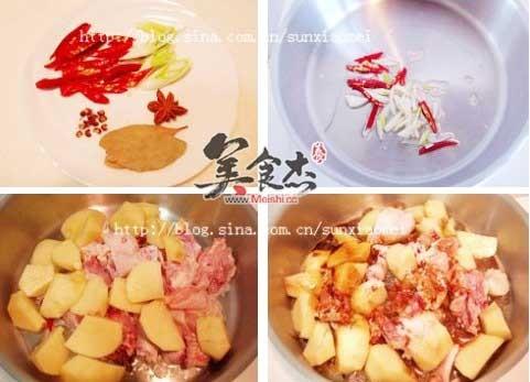 三黄鸡炖土豆的做法图解
