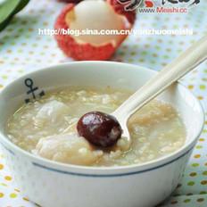 荔枝紅棗糙米粥